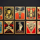 Shepard Fairey - HPM / Hand Painted Multiples